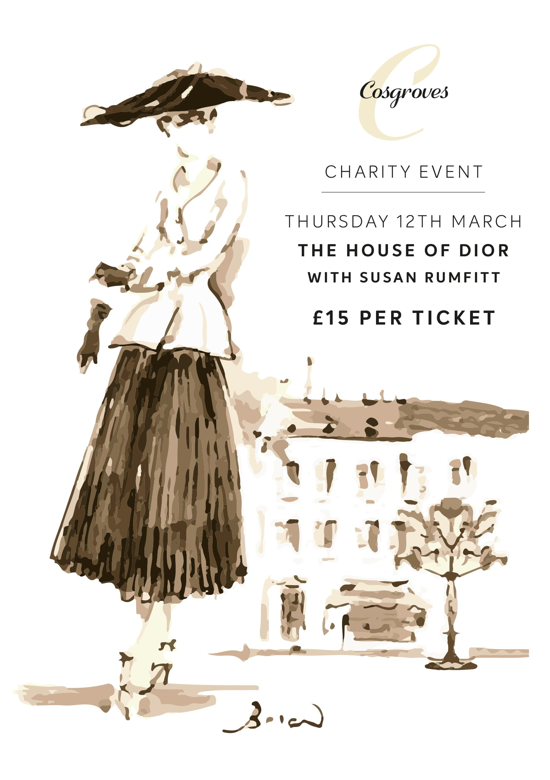Next Event – The House of Dior with Jewellery Expert Susan Rumfitt
